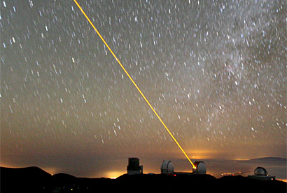 Ground-based lasers vie with satellites to map Earth's magnetic field