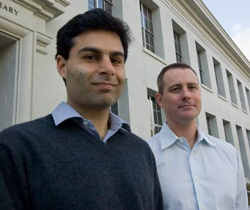 ROHO researchers Patrick Sharma and Martin Meeker