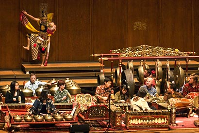 Gamelan instruments and courses attract an audience