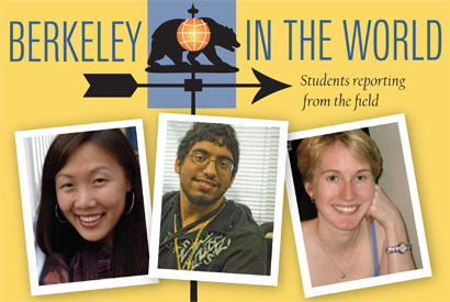 Berkeley in the World blog, featuring students' posts from around the globe, goes live