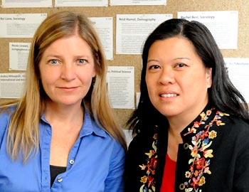 Christine Trost and Eva Seto