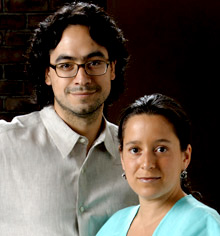 Roberto Hernandez and Layda Negrete