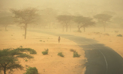 Senegal dust storm