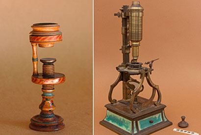 Antique microscopes go on display at SFO
