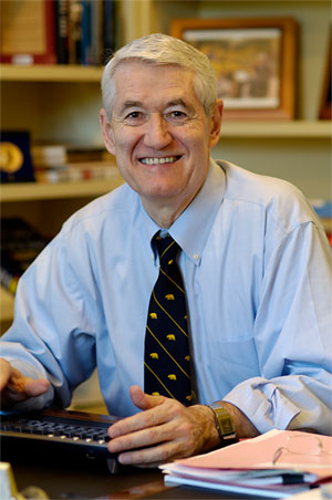 UC Berkeley Chancellor Robert Birgeneau.