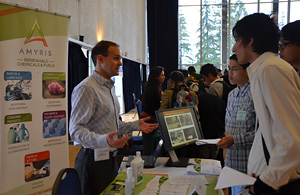 High-schoolers explore green careers at campus fair
