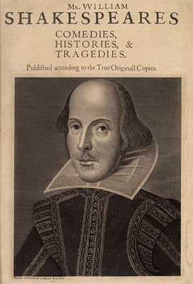 1623 Shakespeare first folio