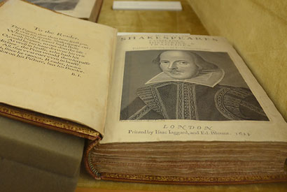 Bancroft showcases rare collection of Shakespeare works