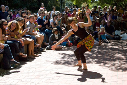 Cal Day African dance