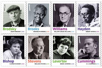 Heyman leaves his stamp: A commemorative set honoring poets
