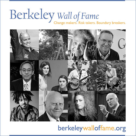 Berkeley Wall of Fame poster