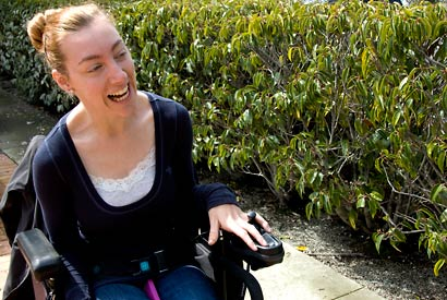 'Accessible fashion'? To Berkeley senior, it's about options, visibility
