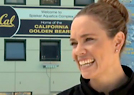 Natalie Coughlin and Coach Terry McKeever -- Swimming