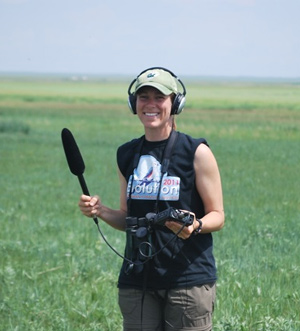 Allison Shultz in Mongolia.