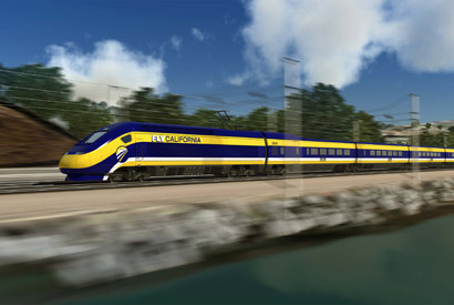Future of California high-speed rail looks green