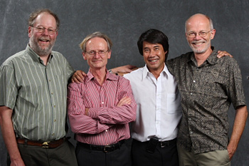 The four co-authors of the paper.