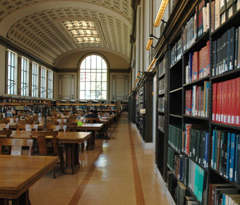 Doe Library North Reading Room
