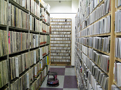 KALX music library