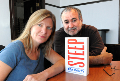 The 'Steep' rise of the Tea Party
