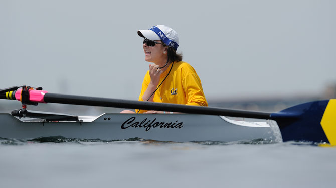 Jill Costello, former coxswain for the Cal women's varsity crew team. (courtesy GoldenBearSports.com)