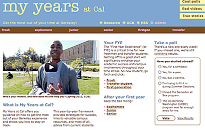 My Years at Cal offers students a virtual roadmap through Berkeley