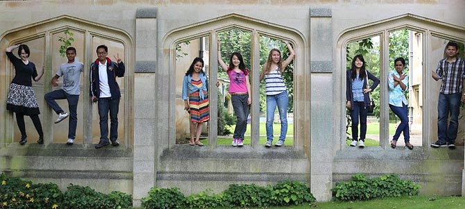 Study-Abroad students at Oxford