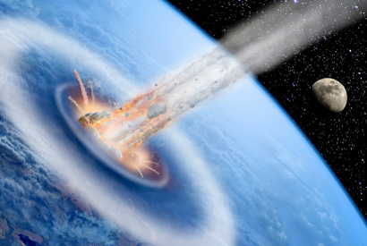 New evidence comet or asteroid impact was last straw for dinosaurs