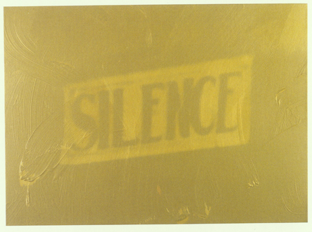 Gold Silence (The Electric Chair)