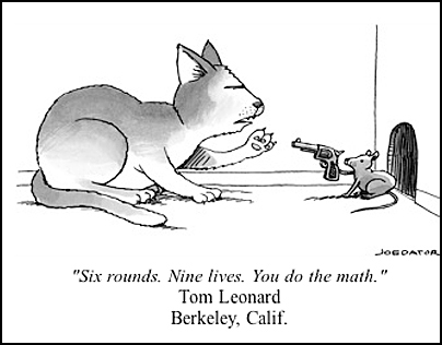One Librarian Eight Words One Big Win In New Yorker Cartoon Caption Contest Berkeley News