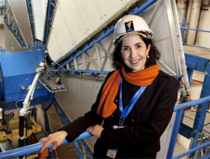 Physicist Fabiola Gianotti